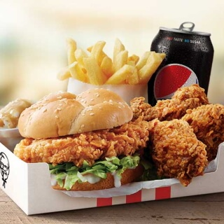 Calories in KFC Australia Zinger Box Meal | CalorieKing (Australia)