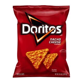 Calories In Doritos Nacho Cheese Flavored Tortilla Chips