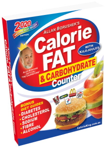 Allan Borushek's Calorie, Fat & Carbohydrate Counter
